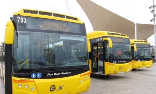 Yellow Bus: lines for Las Palmas only (UD Las Palmas)